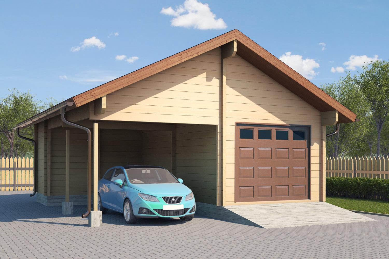 выложите мелиссу гараж из бруса проекты фото запах идеальный